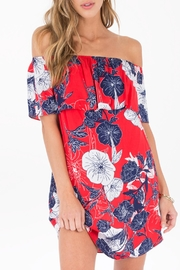 Others Follow  Meadow Red Dress - Front cropped