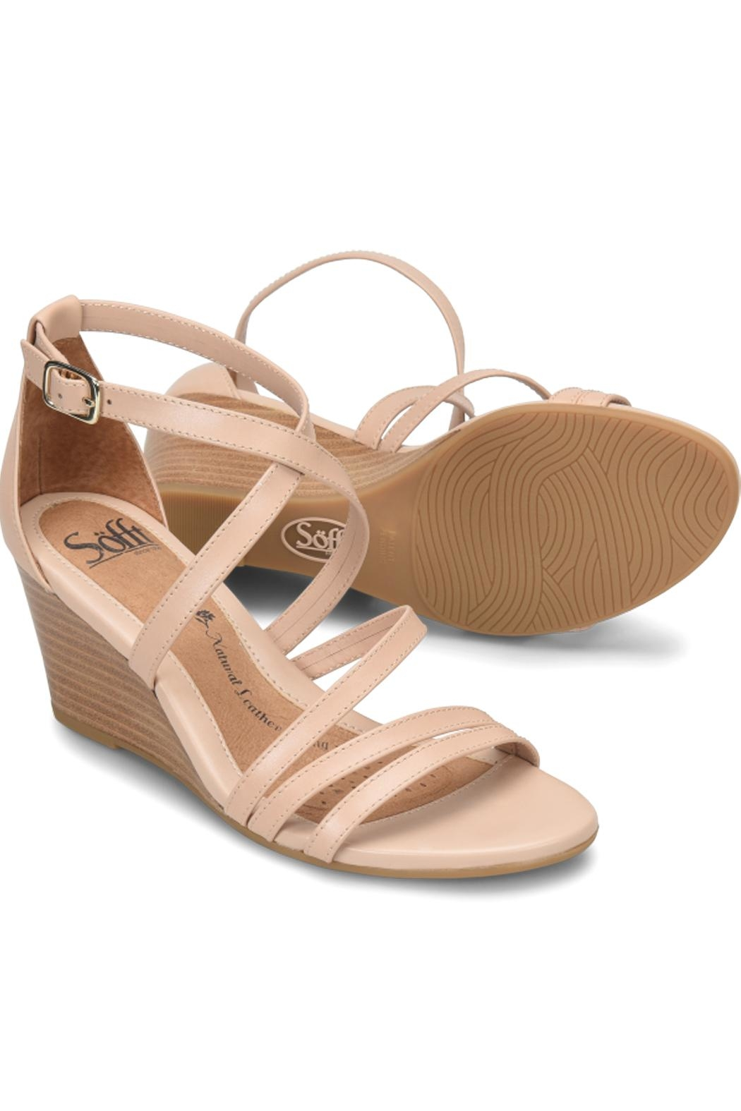 Sofft Mecina Blush Wedge - Front Full Image