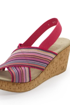 CHARLESTON Med Wedge Sandal - Alternate List Image