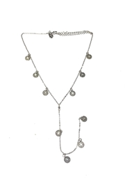 Lets Accessorize Medallion Lariat Necklace - Product Mini Image