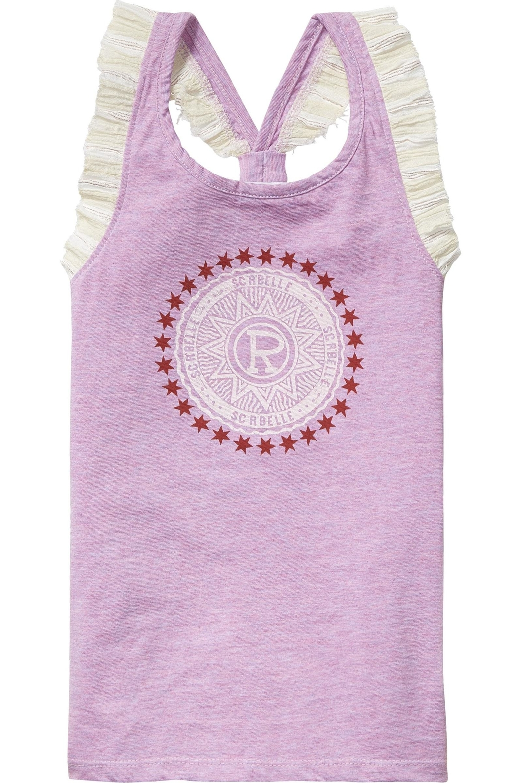 Scotch R'Belle Medallion Logo Tank - Front Cropped Image