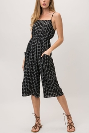 Cozy Casual Medallion Print Jumpsuit - Product Mini Image