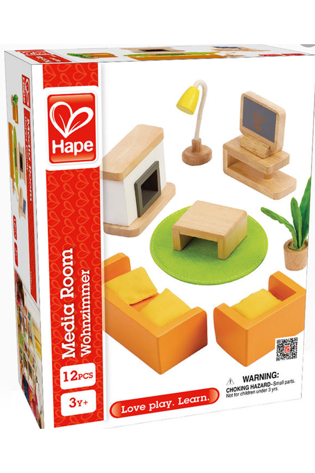 Hape Media Room Furniture - Front Full Image