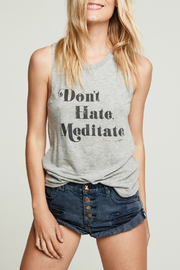 SPIRITUAL GANGSTER Meditate Muscle Tank - Product Mini Image