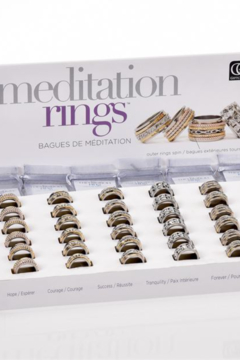 Giftcraft Inc.  Meditation Rings - Product List Image