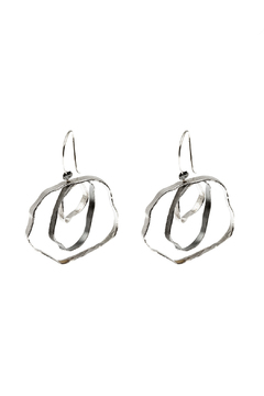 Shoptiques Product: Intersecting Circles Earrings