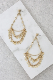 Ettika Mediterranean Night Earrings - Front cropped