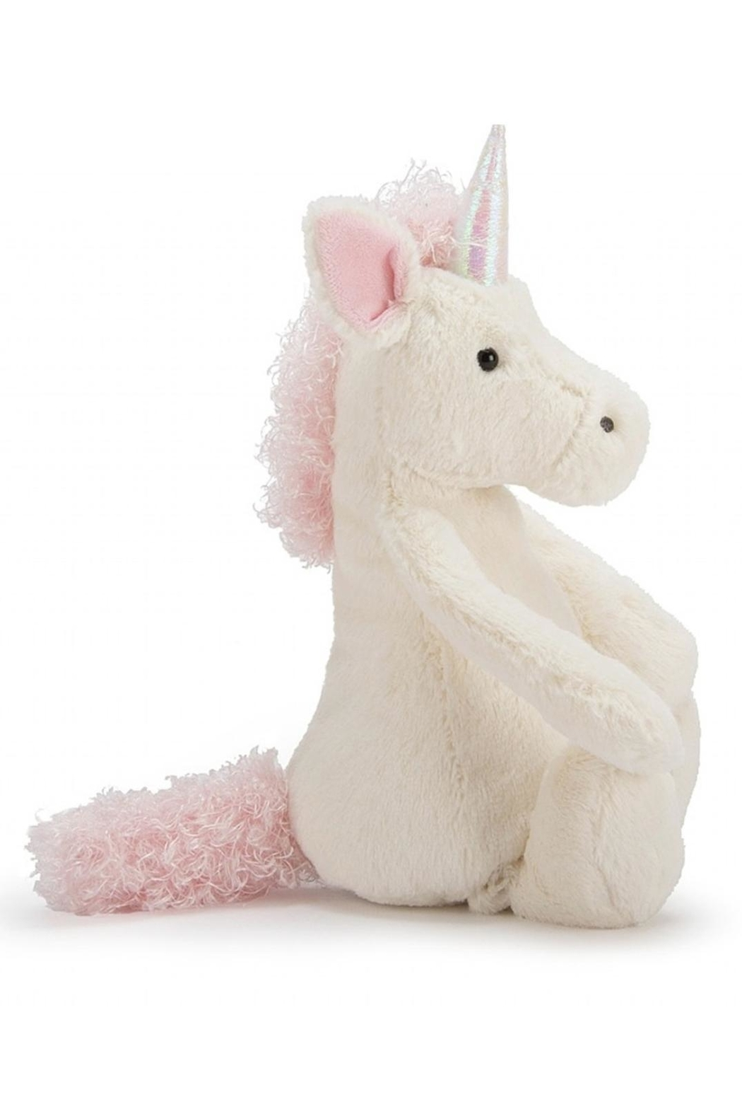 Jellycat Medium Bashful Unicorn Toy - Front Full Image