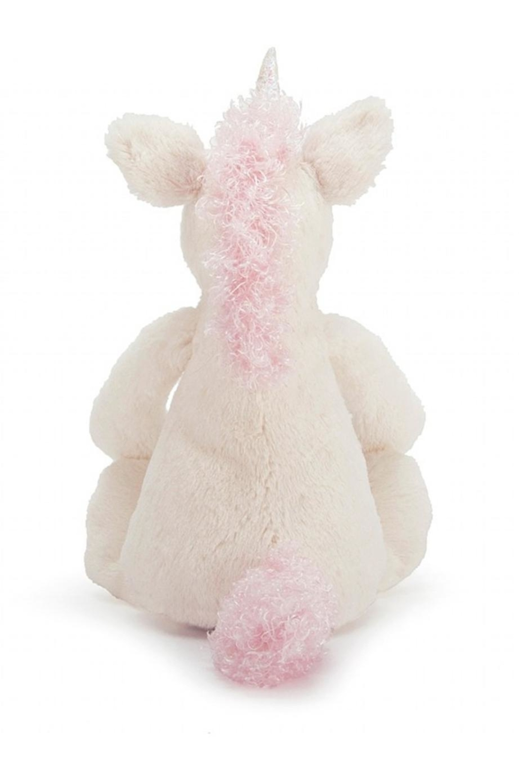 Jellycat Medium Bashful Unicorn Toy - Side Cropped Image