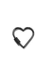 OMG Blings Medium Outlined-Heart Charm - Product Mini Image