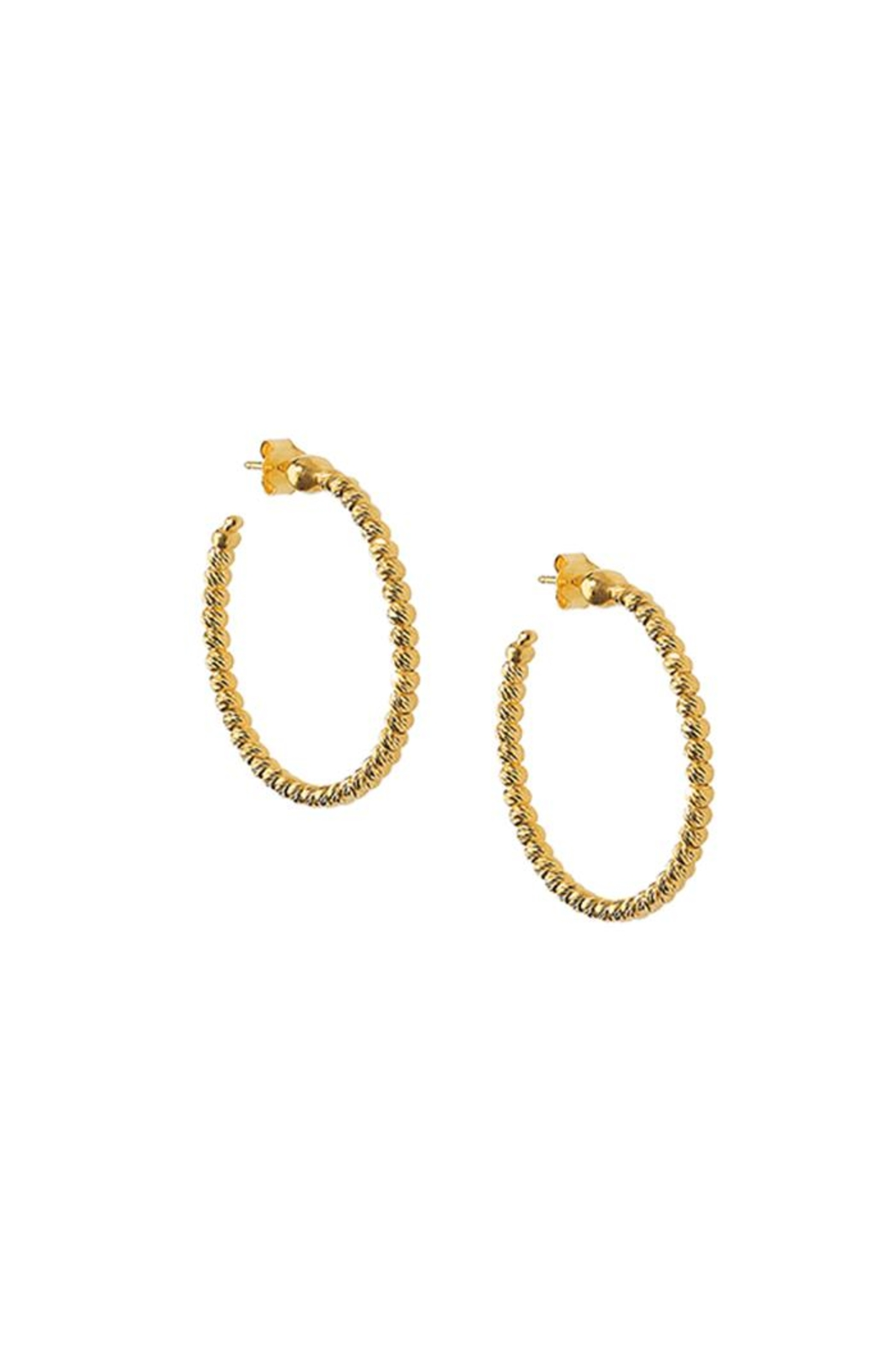 Officina Bernardi Medium Slash Earrings - Main Image