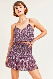 Reset By Jane  Megan Smocked Skirt - Front cropped