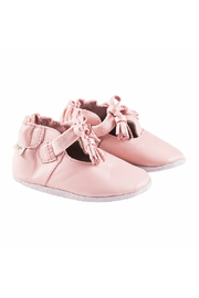 Robeez Meghan Pink Soft Soles Baby Shoes - Product Mini Image