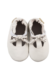 Robeez Meghan White Soft Soles - Product Mini Image