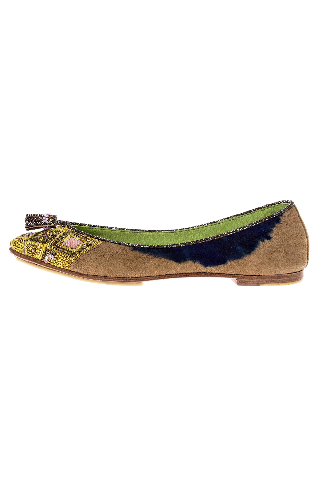 Meher Kakalia Beaded Point Ballet Flat - Main Image