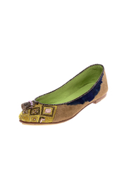 Shoptiques Product: Beaded Point Ballet Flat - Back cropped