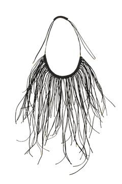 Shoptiques Product: Black Fringe Necklace