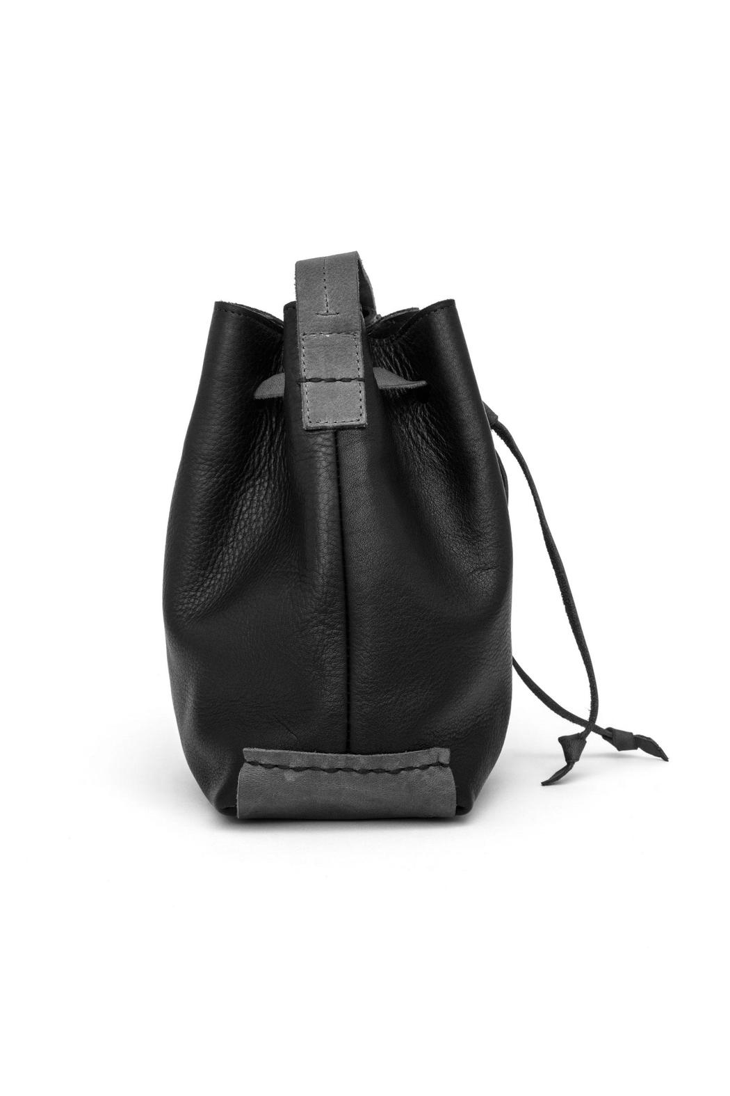 MEIRAV OHAYON Black Grey Bucket Bag - Front Full Image