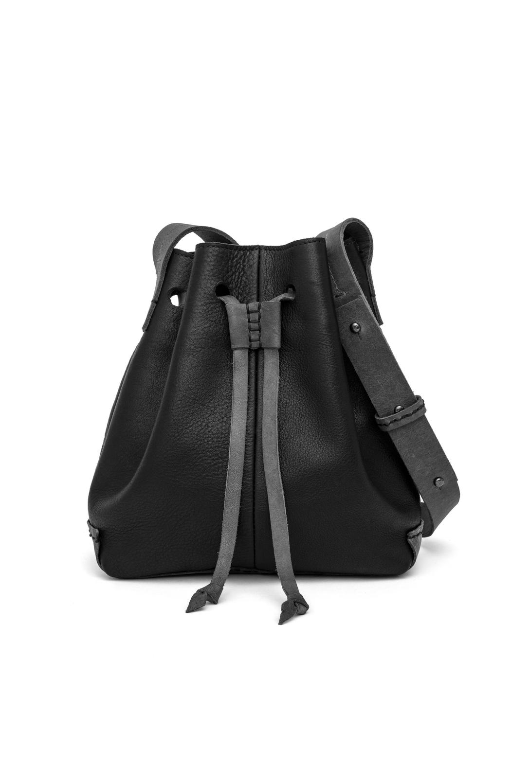 MEIRAV OHAYON Black Grey Bucket Bag - Main Image