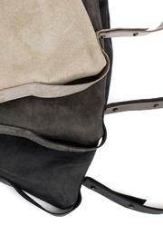 MEIRAV OHAYON Charcoal Drawstring Backpack - Back cropped