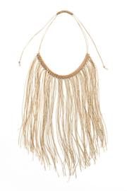 MEIRAV OHAYON Cream Fringe Necklace - Product Mini Image