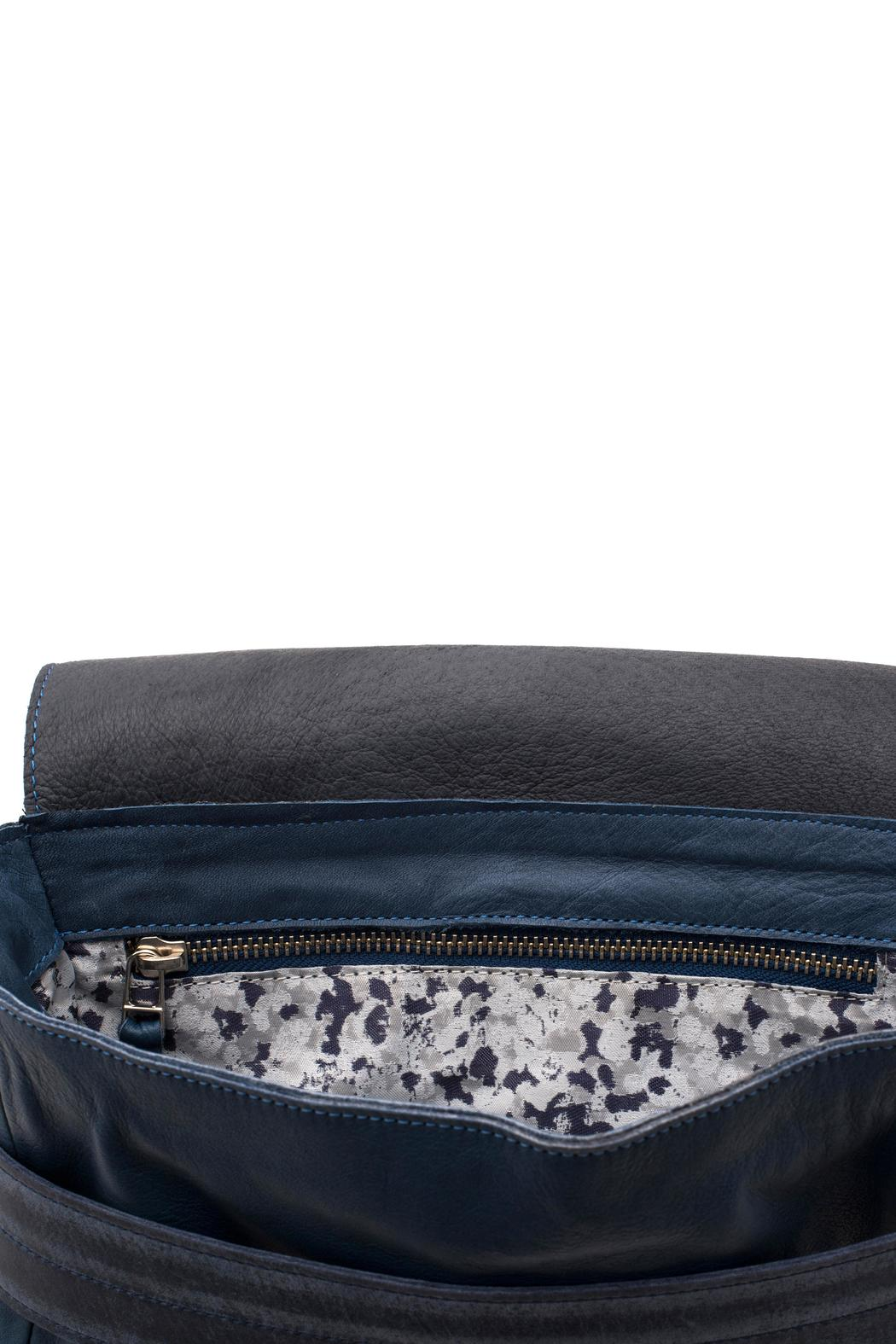 MEIRAV OHAYON Michelle Navy Blue Crossbody - Side Cropped Image