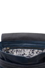 MEIRAV OHAYON Michelle Navy Blue Crossbody - Side cropped
