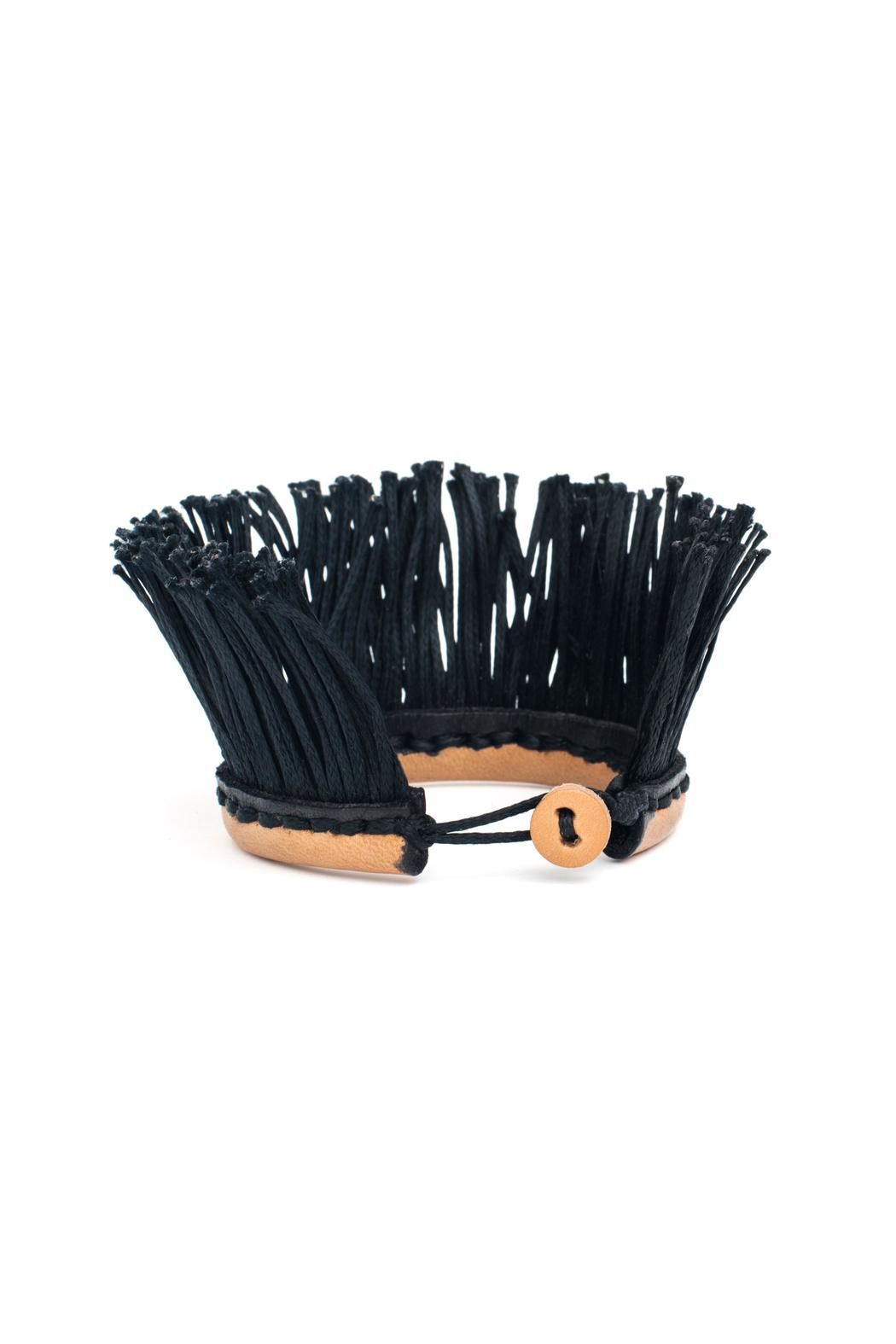 MEIRAV OHAYON Leather Fringe Bracelet - Main Image