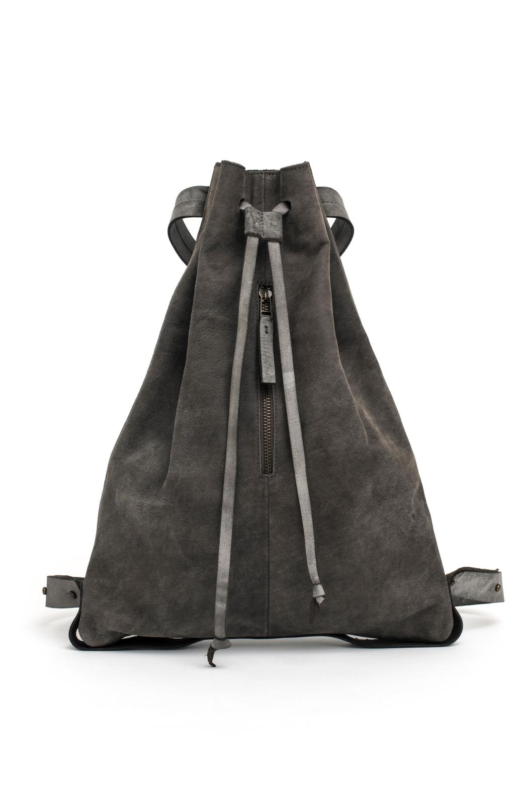 MEIRAV OHAYON Taupe Drawstring Backpack - Front Full Image