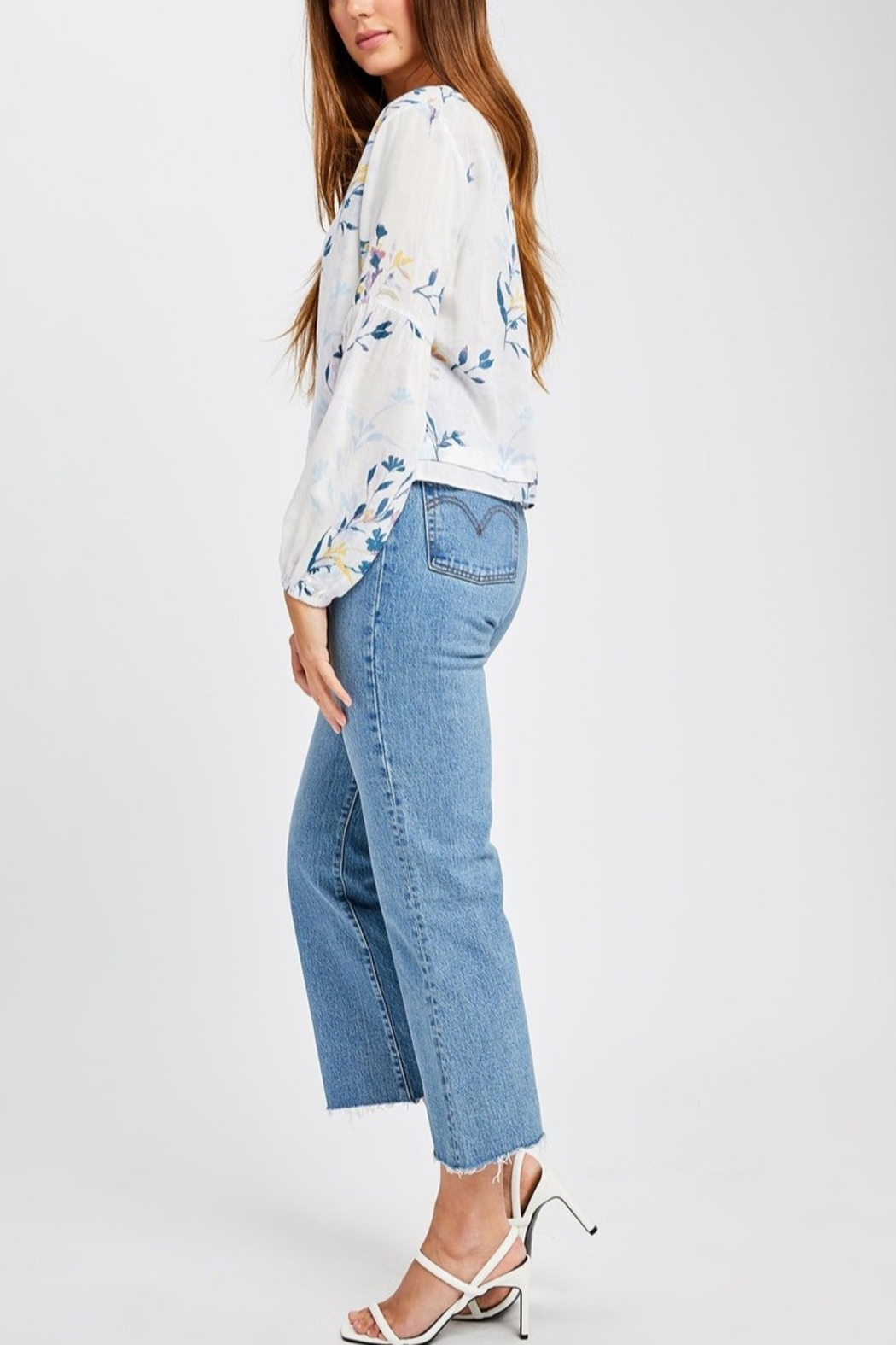 Gentle Fawn Mel Floral Blouse - Front Full Image