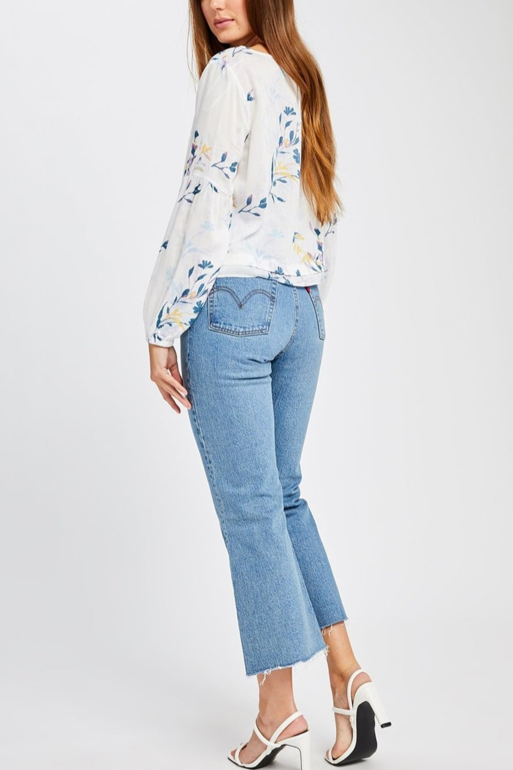 Gentle Fawn Mel Floral Blouse - Side Cropped Image