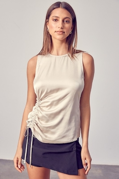 Do + Be  Mel Ruche Detail Top - Product List Image