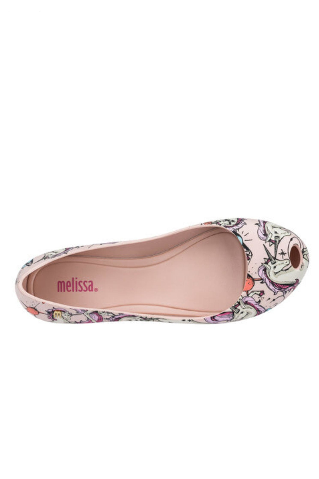 Mini Melissa Mel-Ultragirl-3db Unicorn Shoes - Front Full Image