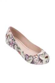 Mini Melissa Mel-Ultragirl-3db Unicorn Shoes - Front cropped