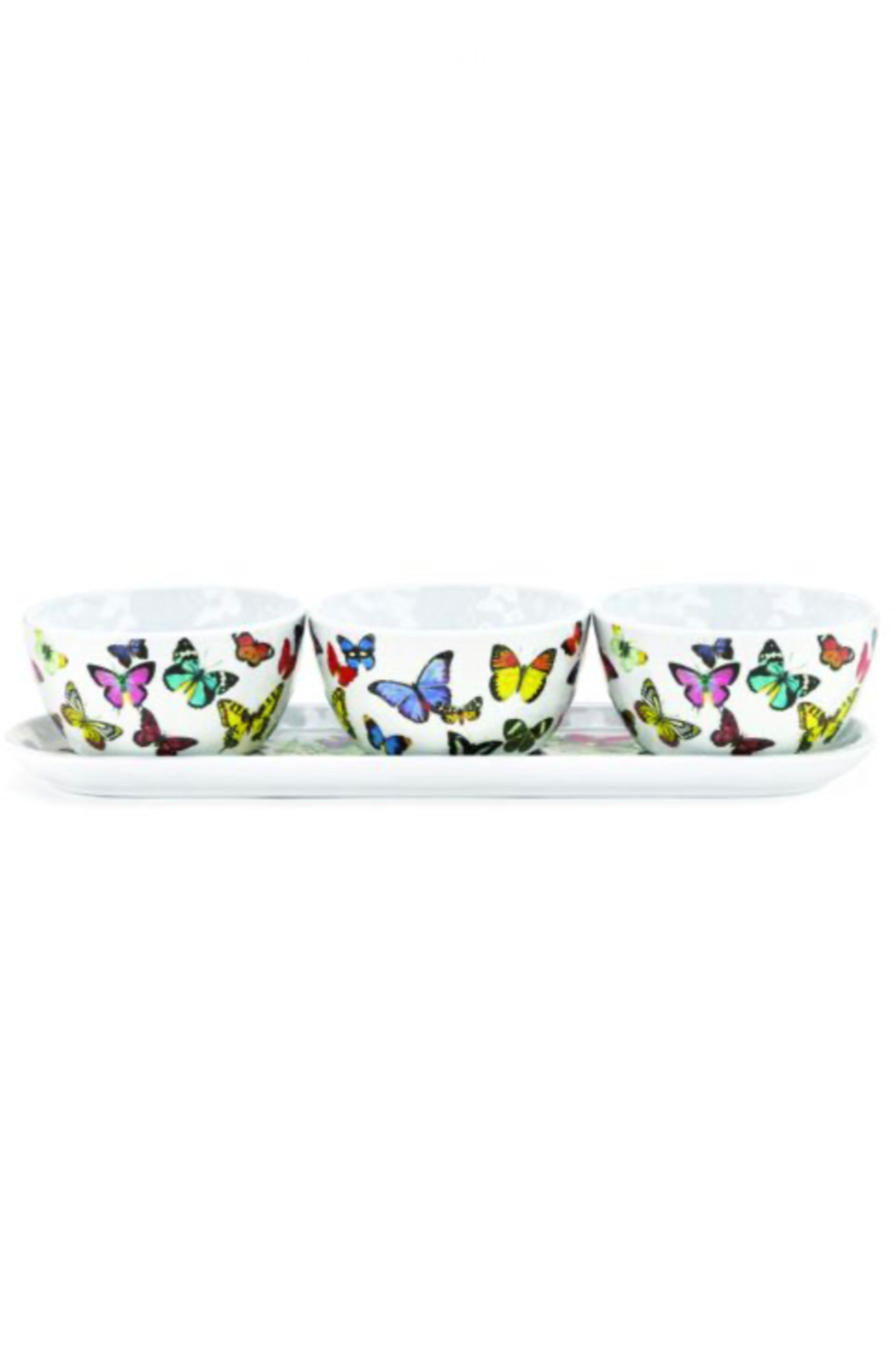 Michel Design Works Melamine Bowl & Tray Set - Main Image