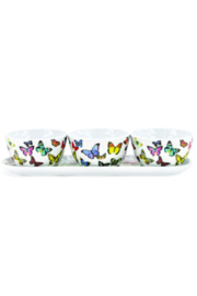 Michel Design Works Melamine Bowl & Tray Set - Front cropped
