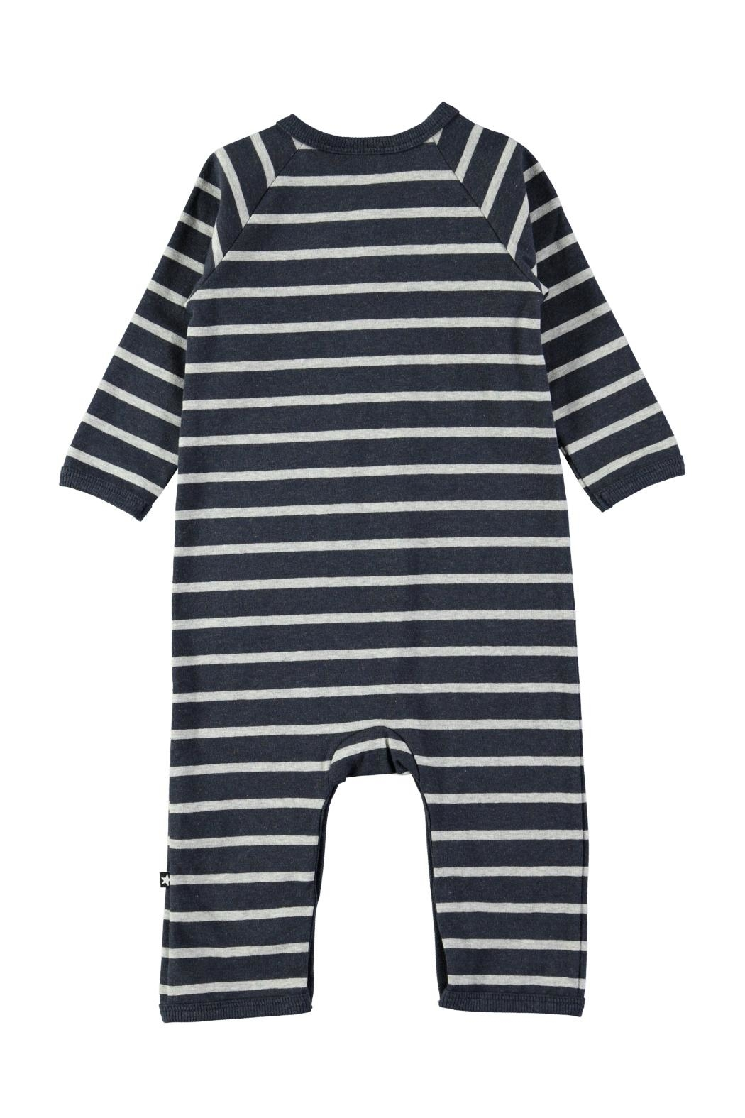 Molo Melange Stripe Playsuit - Front Full Image