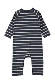 Molo Melange Stripe Playsuit - Front full body