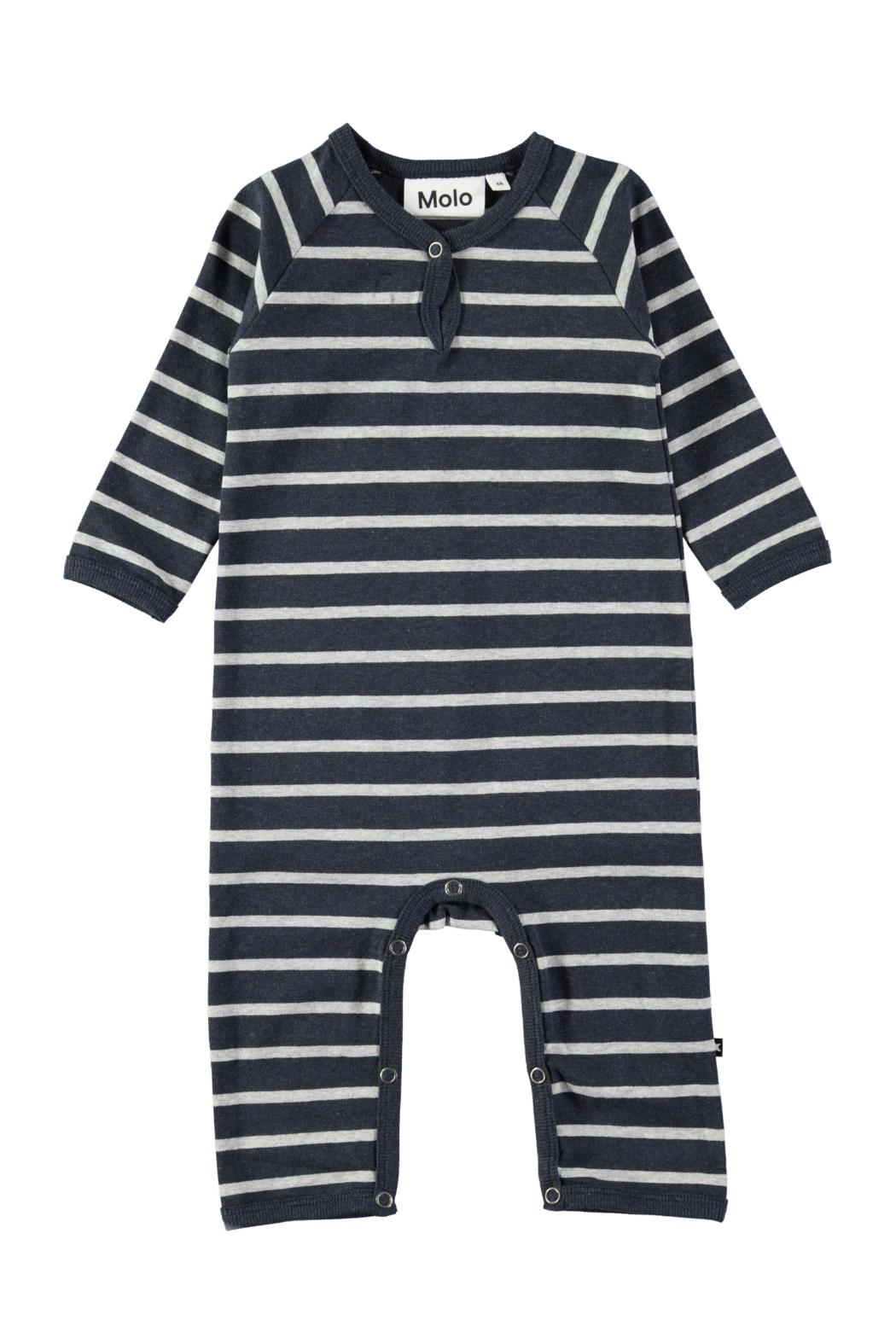 Molo Melange Stripe Playsuit - Main Image