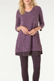 Yest Melange Sweater Tunic - Product Mini Image