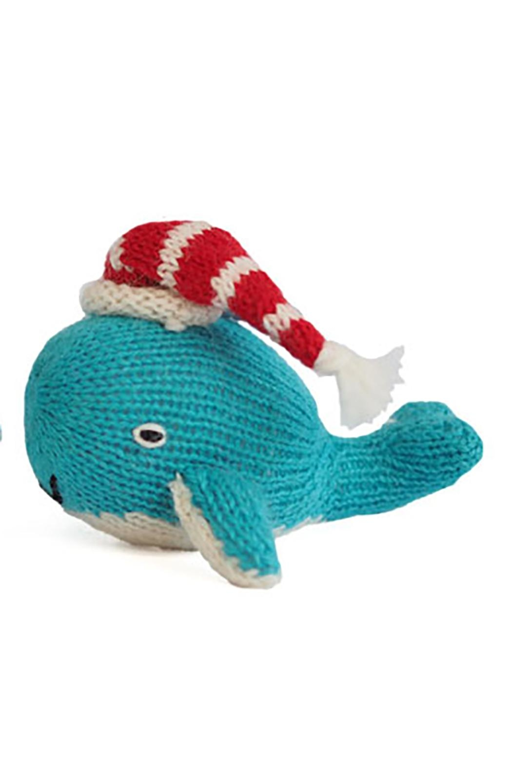 Melange Whale Christmas Ornament - Main Image