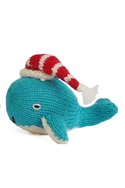 Melange Whale Christmas Ornament - Front cropped