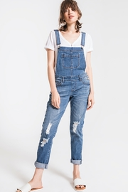 Others Follow  Melanie distressed denim overal - Product Mini Image