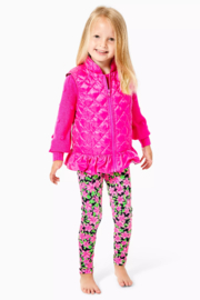 Lilly Pulitzer  Girls Melanie Reversible Vest - Front cropped