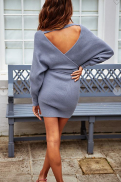 ONE AND ONLY COLLECTIVE Melanie Ribbed Sweater Dress - Alternate List Image