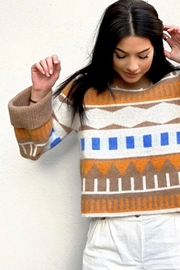 Just Female Melba Knit Sweater - Front full body