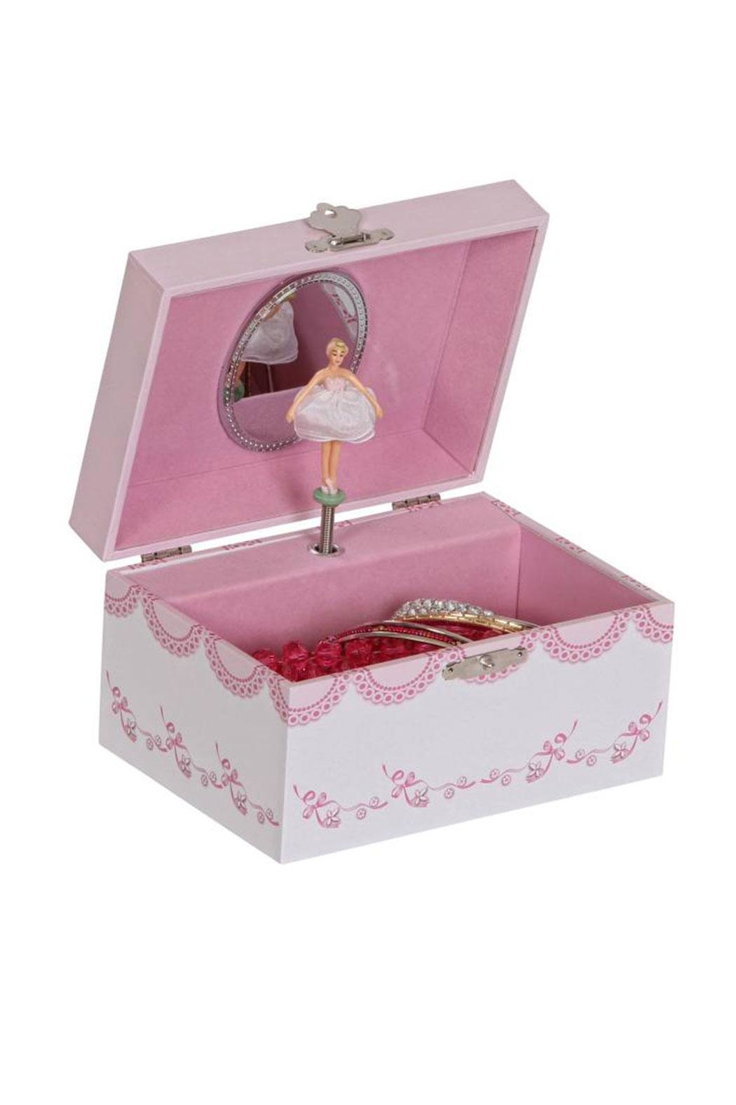 Mele & Co Clarice Jewelry Box - Front Cropped Image