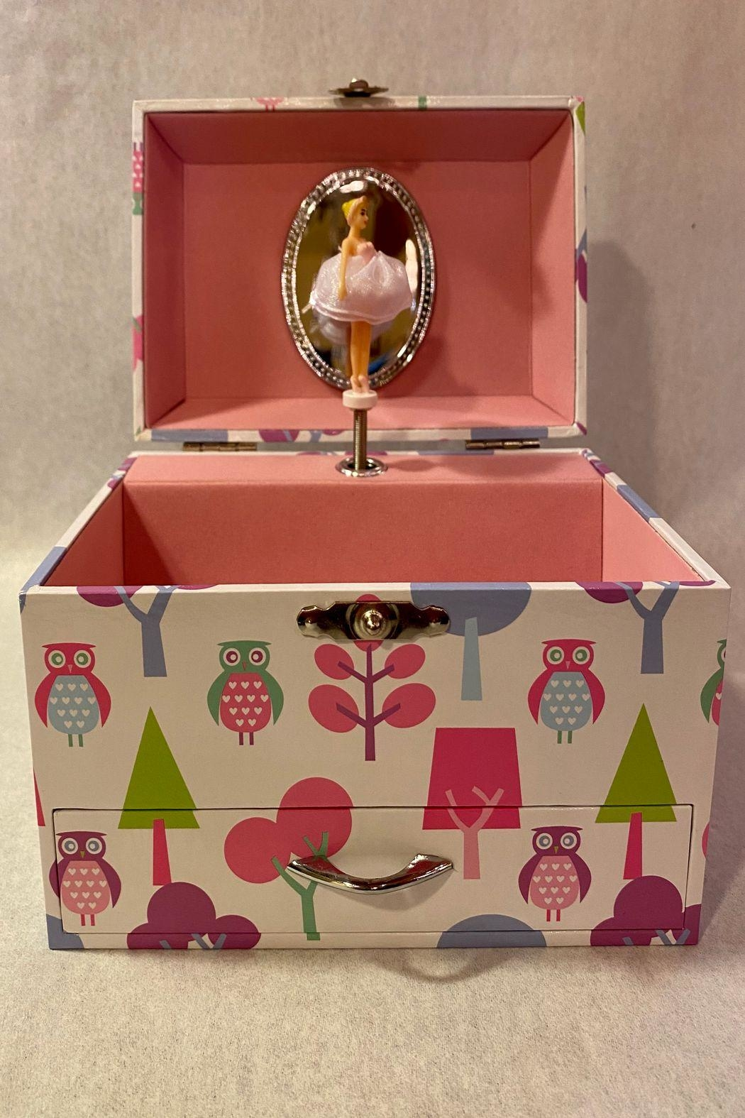 Mele & Co Musical Jewelry Box Large - Front Full Image