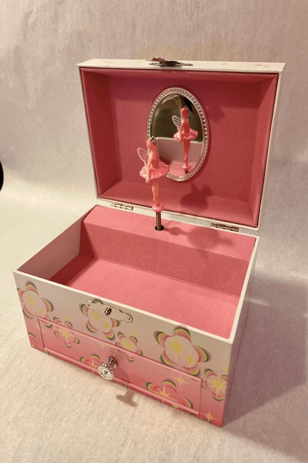 Mele & Co Musical Jewelry Box Small - Main Image