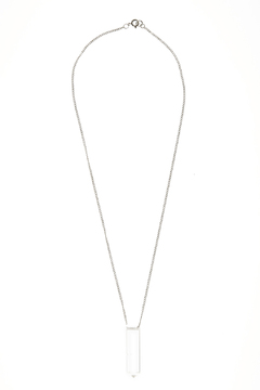 Melene Kent Jewels Silver Clarity Necklace - Product List Image